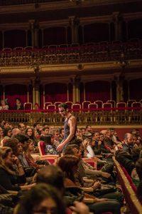 Santi en el Teatro Romea Love, Death and