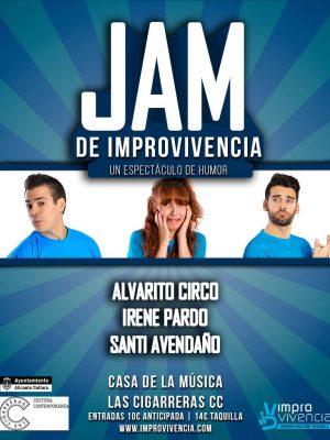JAM ImproVivencia Las Cigarreras improvisación teatral